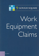 Cover of Work Equipment Claims