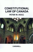 Cover of Constitutional Law of Canada 5th ed: (Hardback)
