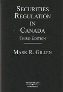Cover of Securities Regulation in Canada