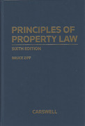 Cover of Principles of Property Law