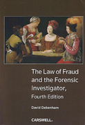 Cover of The Law of Fraud and the Forensic Investigator