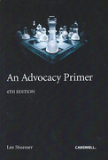 Cover of An Advocacy Primer