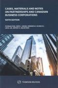 Cover of Cases, Materials and Notes on Partnerships and Canadian Business Corporations