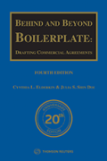 Cover of Behind and Beyond Boilerplate: Drafting Commercial Agreements