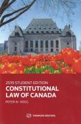 Cover of Constitutional Law of Canada: 2019 Student Edition