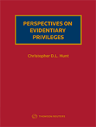 Cover of Perspectives on Evidentiary Privileges