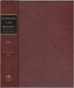 Cover of Dominion Law Reports 4th Series: Bound Volumes Only
