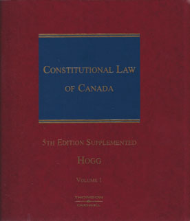 constitutional law of canada 2017 student edition