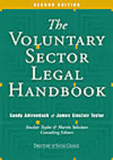 Cover of The Voluntary Sector Legal Handbook