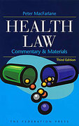 Cover of Health Law - Commentary and Materials