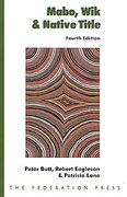 Cover of Mabo, Wik and Native Title