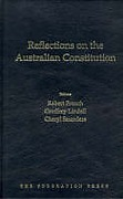Cover of Reflections on the Australian Constitution