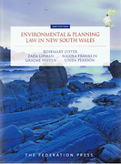 Cover of Environmental and Planning Law in New South Wales
