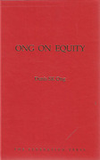 Cover of Ong on Equity