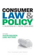 Cover of Consumer Law and Policy in Australia and New Zealand