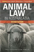 Cover of Animal Law in Australasia: Continuing the Dialogue