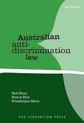 Cover of Australian Anti-Discrimination Law