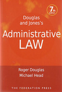 Cover of Douglas and Jones's Administrative Law