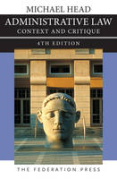 Cover of Administrative Law: Context and Critique