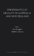 Cover of The Principle of Legality in Australia and New Zealand