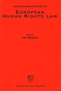 Cover of Sir Thomas More Lecture 2002: European Human Rights Law