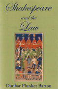 Cover of Shakespeare and the Law