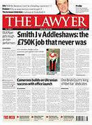 Cover of The Lawyer (Magazine) Print Only
