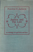 Cover of Justice and the Law: An Anthology of Legal Poetry and Verse