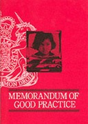 Cover of Memorandum of Good Practice on Video Recorded Interviews with Child Witnesses for Criminal Proceedings