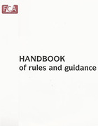 Cover of FCA Listing Rules: Disclosure and Transparency Rules, and Prospectus Rules A4
