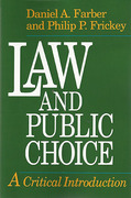 Cover of Law and Public Choice