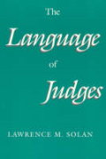 Cover of The Language of Judges
