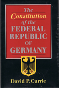 Cover of The Constitution of the Federal Republic of Germany