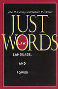 Cover of Just Words