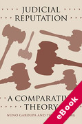 Cover of Judicial Reputation: A Comparative Theory (eBook)