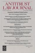 Cover of Antitrust Law Journal