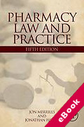 Cover of Pharmacy Law and Practice (eBook)
