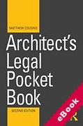 Cover of Architect's Legal Pocket Book (eBook)