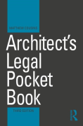 Cover of Architect's Legal Pocket Book