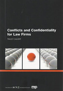 Cover of Conflicts and Confidentiality for Law Firms