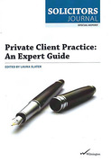 Cover of Private Client Practice: An Expert Guide