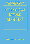 Cover of International Law and Islamic Law