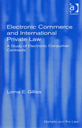 Cover of Electronic Commerce and International Private Law: A Study of Electronic Consumer Contracts