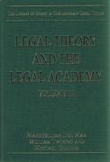 Cover of Contemporary Legal Theory Volume III: Legal Theory and the Legal Academy