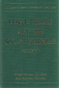 Cover of Contemporary Legal Theory Volume II: Legal Theory and the Social Sciences