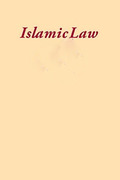 Cover of Islamic Law