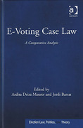 Cover of E-Voting Case Law: A Comparative Analysis