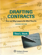 Cover of Drafting Contracts: How and Why Lawyers Do What They Do