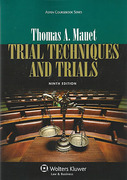 Cover of Trial Techniques and Trials