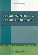 Cover of Legal Writing for Legal Readers